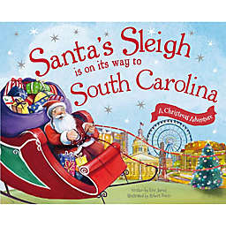 """""""Santa's Sleigh Is On Its Way To South Carolina"""" by Eric James"""