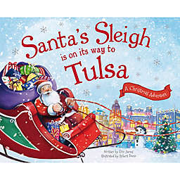 """Santa's Sleigh Is On Its Way To Tulsa"" by Eric James"