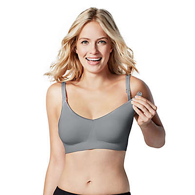 Bravado Designs Body Silk Seamless Nursing Bra in Silver Belle