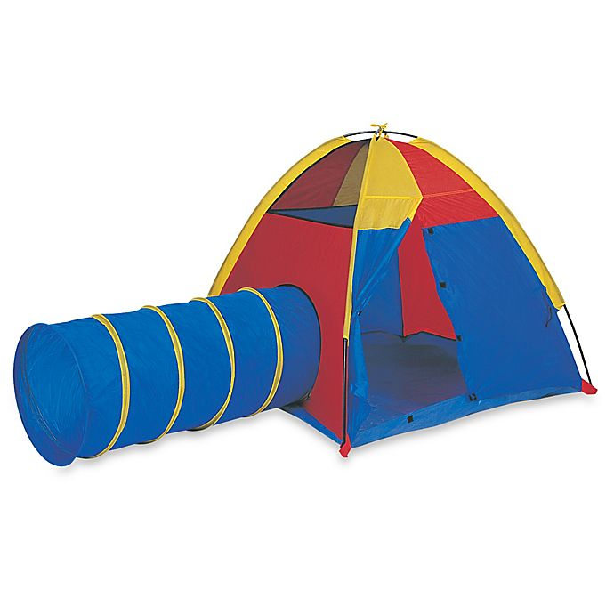 Alternate image 1 for Pacific Play Tents Hide-Me Tent and Tunnel Combination