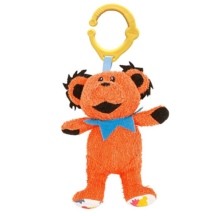 Alternate image 1 for Daphyls™ Grateful Dead Dancing Bear Plush in Orange