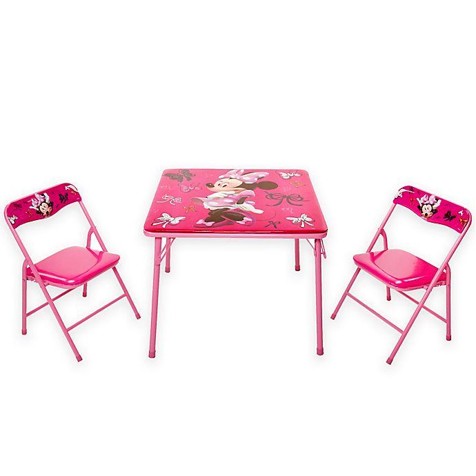 Pleasant Minnie Mouse First Fashionista Activity Table Set Buybuy Baby Customarchery Wood Chair Design Ideas Customarcherynet
