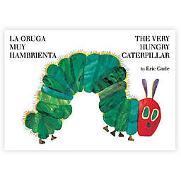 """The Very Hungry Caterpillar"" Spanish/English Version Book by Eric Carle"