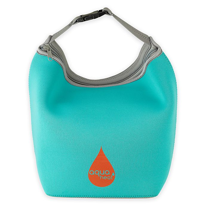 Alternate image 1 for Aquaheat™ by Innobaby Insulated Neoprene Lunchbag in Teal
