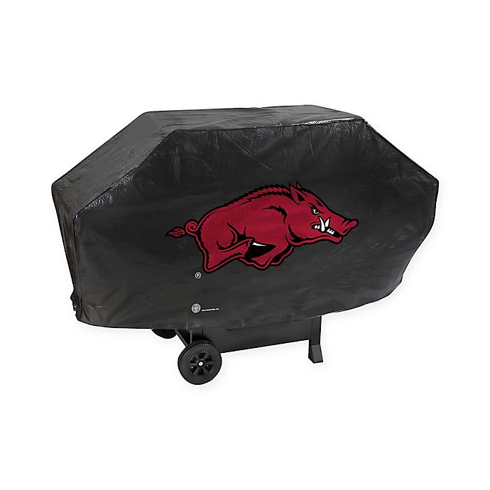 Alternate image 1 for NCAA University of Arkansas Deluxe Barbecue Grill Cover