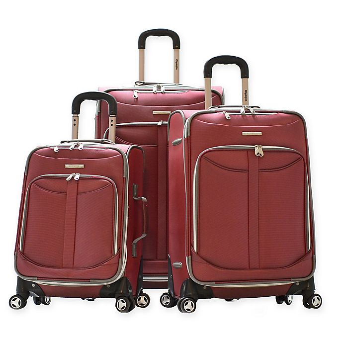 Alternate image 1 for Olympia® Tuscany 3-Piece Spinner Luggage Set