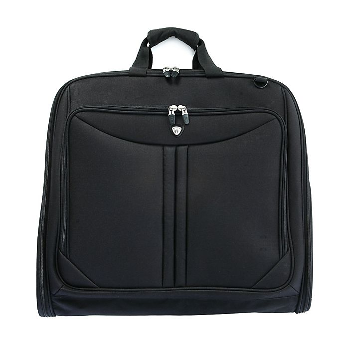 Alternate image 1 for Olympia® Vector Garment Bag in Black