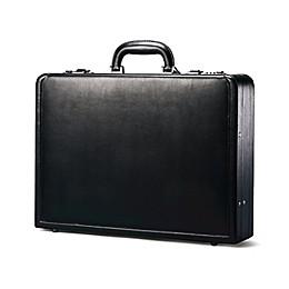 Samsonite® Bonded Leather Attaché in Black
