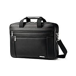 Samsonite® Toploader 2-Gusset Briefcase in Black