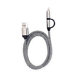 Kikkerland Design 2-in-1 Charging Cable
