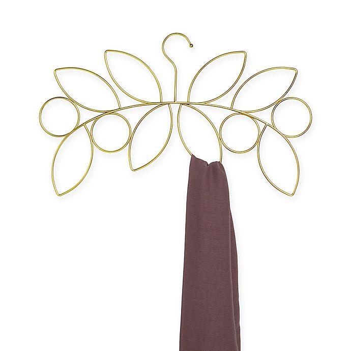 Alternate image 1 for Umbra® Willow Scarf Hanger in Gold
