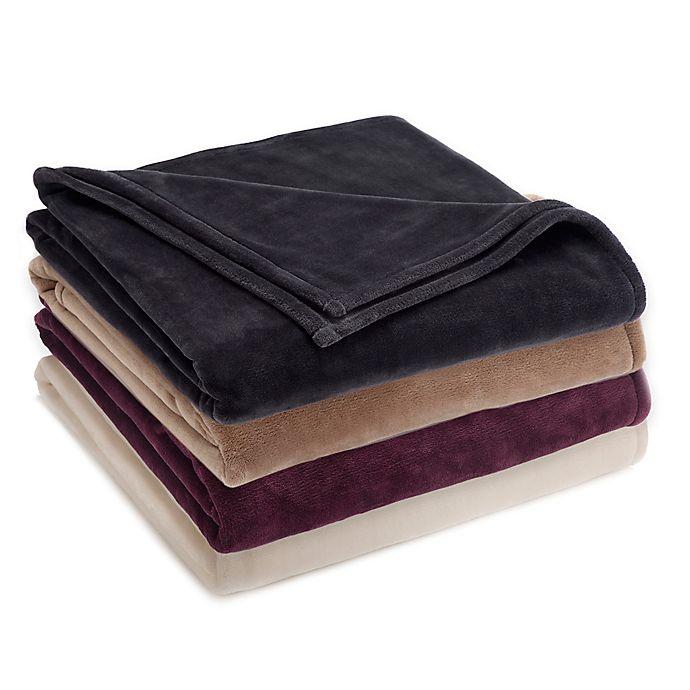 Alternate image 1 for Vellux® Sheared Mink Blanket