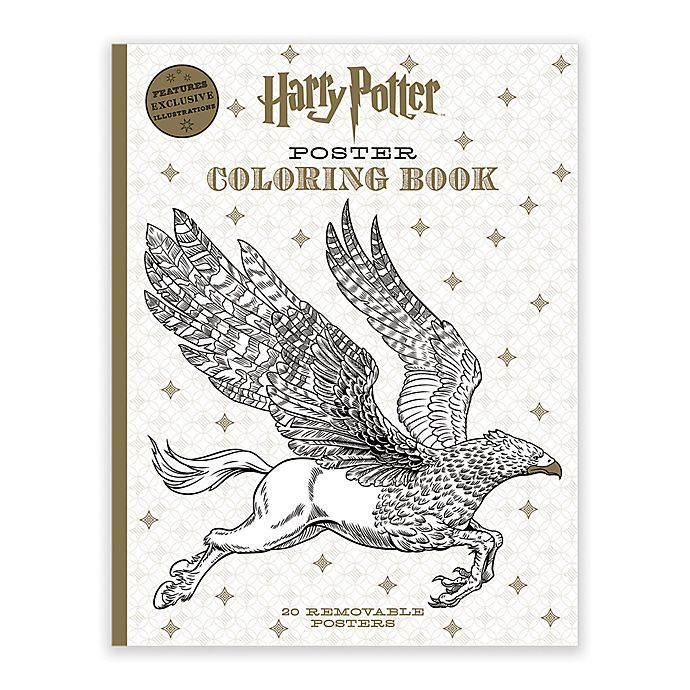 Alternate image 1 for Scholastic Harry Potter Poster Coloring Book
