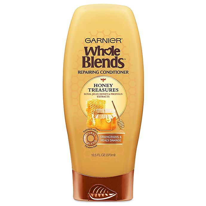 Alternate image 1 for Garnier® Whole Blends™ Honey Treasures 12.5 oz. Repairing Conditioner