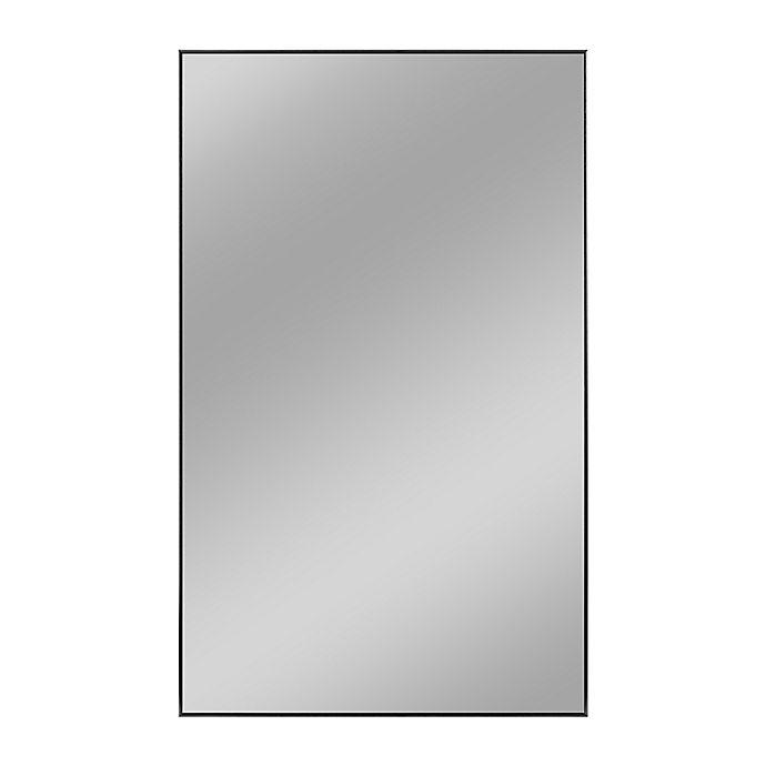 Alternate image 1 for Aluminum Alloy Full-Length Floor Mirror