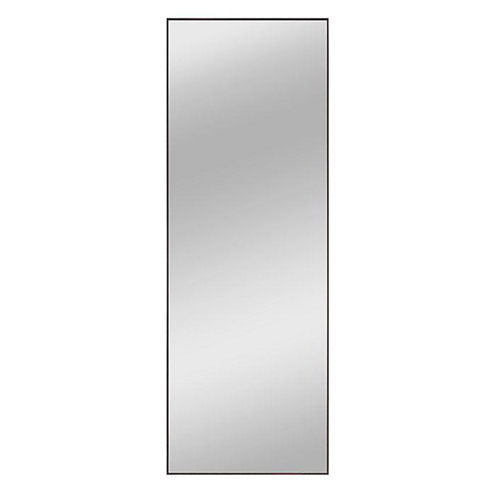 Alternate image 1 for Modern 64-Inch x 21-Inch Rectangular Full Length Mirror