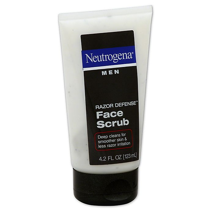 Alternate image 1 for Neutrogena® Men Razor Defense® 4.2 oz. Face Scrub