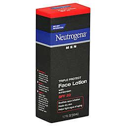 Neutrogena® Men 1.7 oz. Triple Protect Face Lotion Broad Spectrum SPF 20