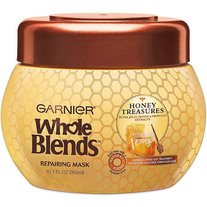 Alternate image 1 for Garnier® Whole Blends™ Honey Treasures 10.1 oz. Repairing Mask