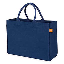 Jute Solid Color Market Tote Bag