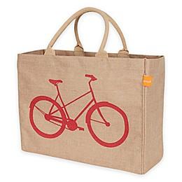 Jute Bicycle Market Bag