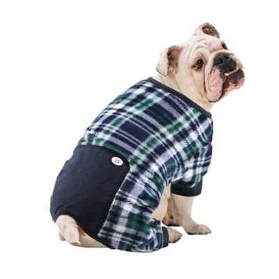 Pawslife Plaid Dog Pajama In Blue Bed Bath And Beyond