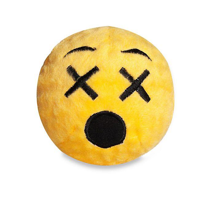 Alternate image 1 for fabdog® Fabmoji Cross-Eyed Emoji Faball Dog Toy