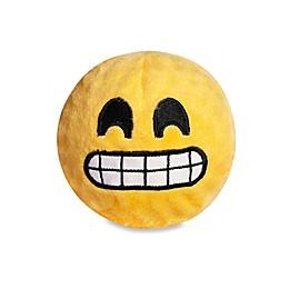 fabdog® Fabmoji Grin Emoji Faball Dog Toy