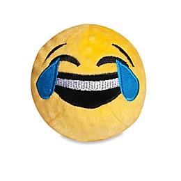 fabdog® Fabmoji Crying/Laughing Emoji Faball Dog Toy