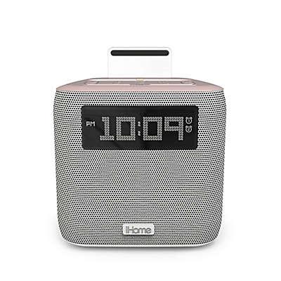 iHome® iPL24 Dual Alarm FM Clock Radio with Lightning Connector