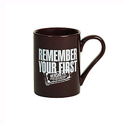 "Hershey's by Fitz and Floyd® ""Remember Your First"" Mug in Maroon"