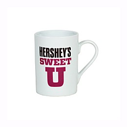 "Hershey's by Fitz and Floyd® ""Hershey's Sweet U"" Mug in White"