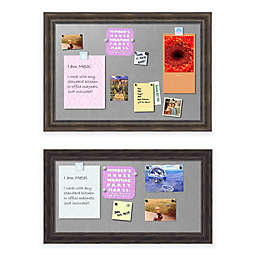 Rustic Pine Framed Magnetic Board