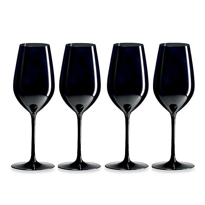 Alternate image 1 for Ravenscroft® R. Croft Double Blind Black Tasting Glasses (Set of 4)