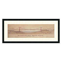 Craig S. Holmes Golden Gate Bridge Framed Art Print