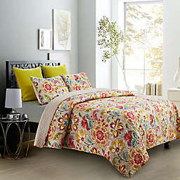 Garden Party Reversible Quilt Set