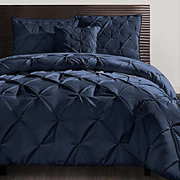VCNY Carmen King Comforter Set in Navy