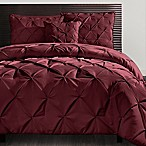 VCNY Carmen Queen Comforter Set in Burgundy