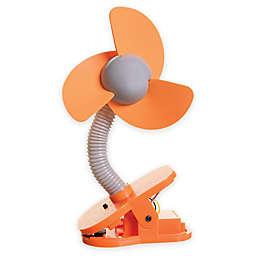 Dreambaby® Clip-On Fan in Orange/Silver