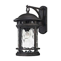 Costa Mesa Outdoor Wall Lantern in Charcoal