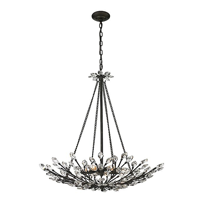Buy Elk Lighting Crystal Branches 6-Light Ceiling Mount