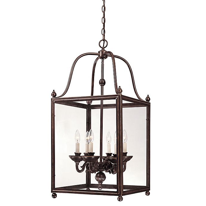 Savoy House Crable Pendant And Chandelier Lighting Collection In Old Bronze