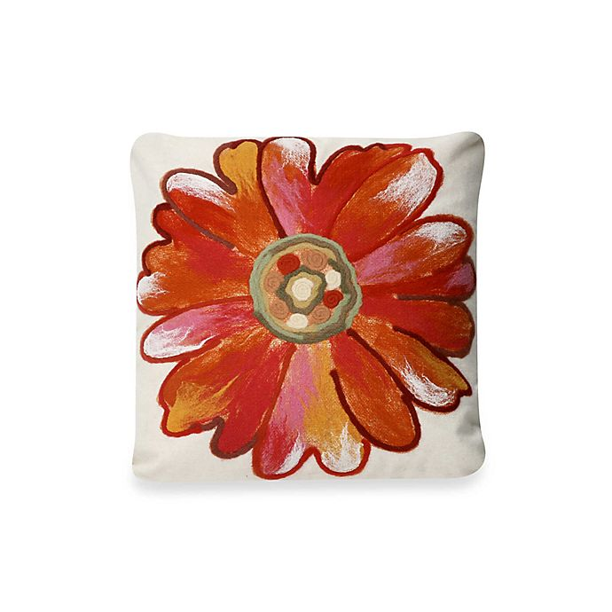 Liora Manne Outdoor Throw Pillow Collection In Daisy Bed Bath Beyond
