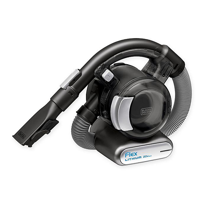 Alternate image 1 for BLACK + DECKER™ 20V Lithium Flex Cordless Hand Vacuum Cleaner