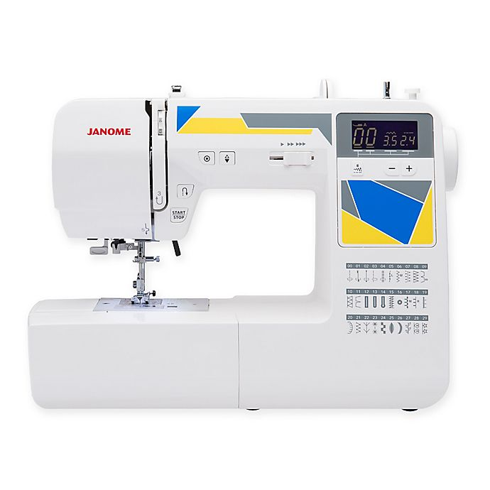 Janome Mod 30 Sewing Machine In White Bed Bath Beyond