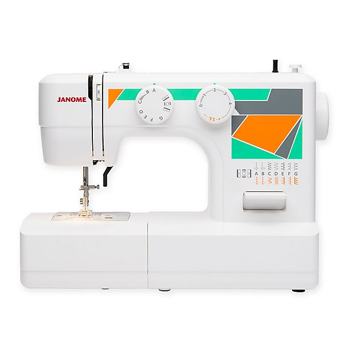 Janome Mod 15 Sewing Machine In White Bed Bath Beyond