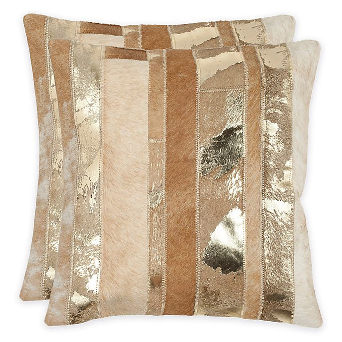 Alternate image 1 for Safavieh Peyton Square Throw Pillows (Set of 2)