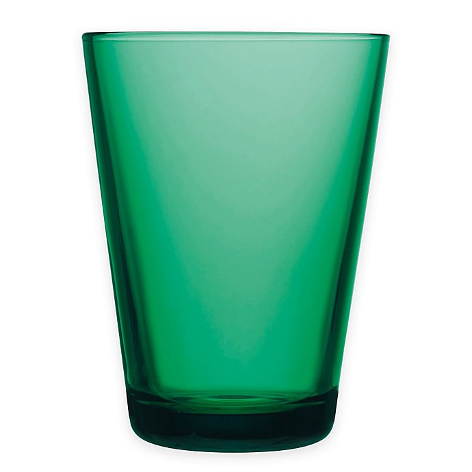 Alternate image 1 for Iittala Kartio 13 oz. Tumblers in Emerald (Set of 2)