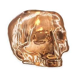 Kosta Boda Still Life Skull Votive Holder