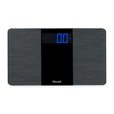 Extra-Wide Digital Bath Scale in Black